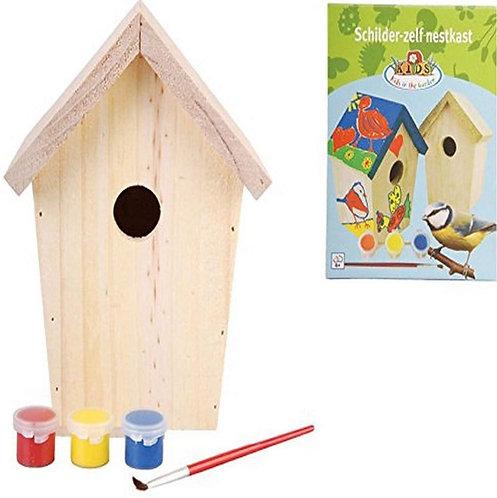 Children's Paint Your Own Birdhouse