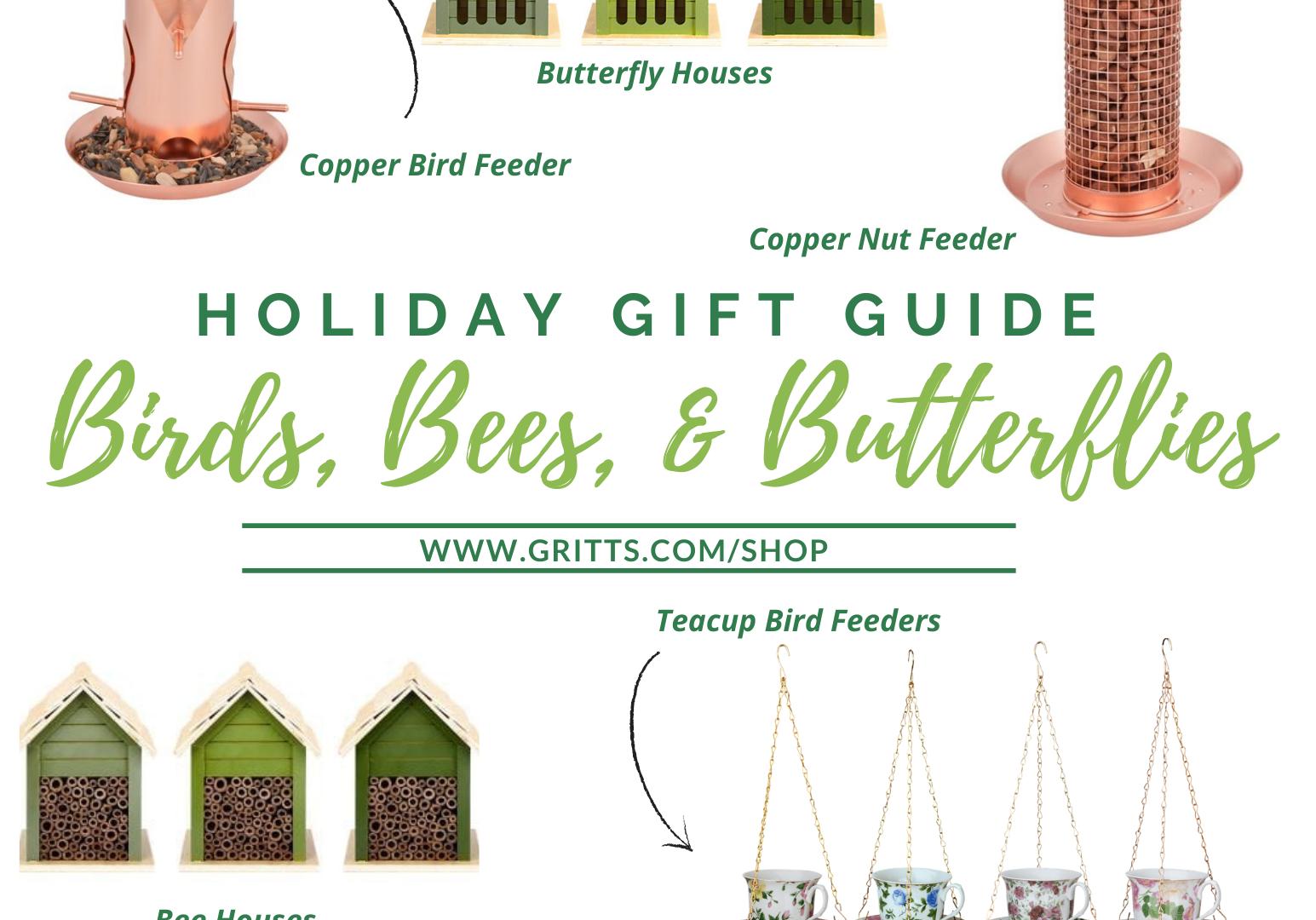 Birds, Bees, Butterflies Gift Guide