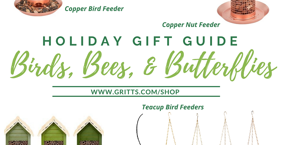 Birds, Bees, Butterflies Gift Guide