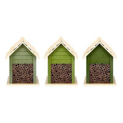 Shades of Green Bee Houses