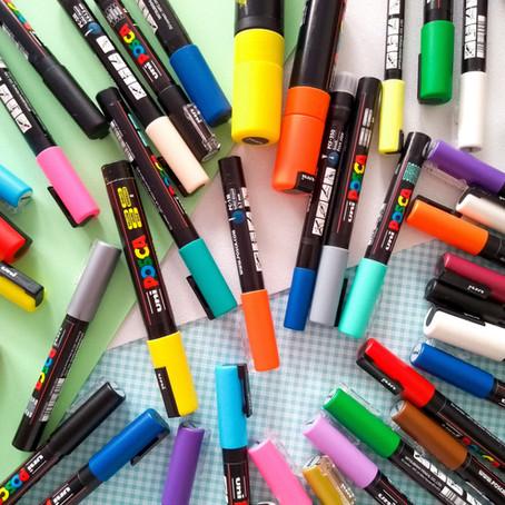 POSCA, a caneta que faz tudo