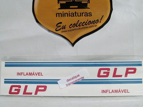 Decalque lista azul p/ carreta GLP tipo arpra (escala 150)