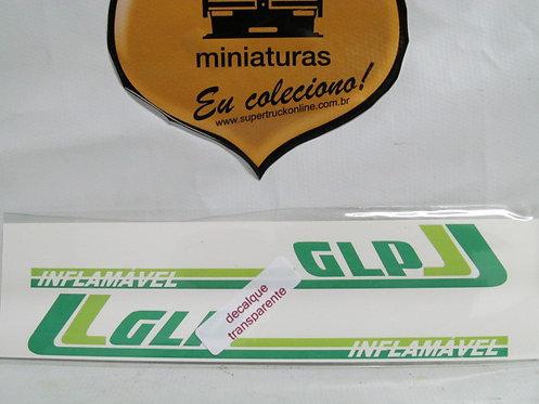 Decalque verde p/ carreta GLP tipo arpra (escala 150)