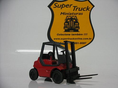 ST 199vm - Miniatura empilhadeira em metal vermelha