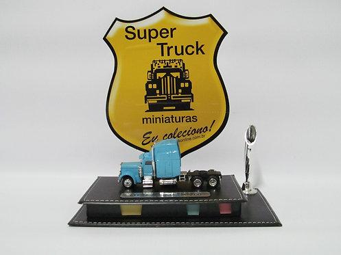 PC 011az - Estojo porta canetas e lembrete caminhão