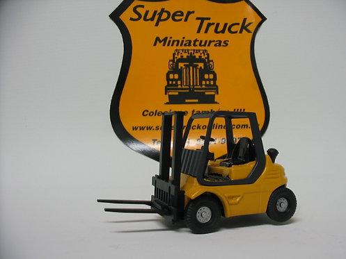 ST 199am - Miniatura empilhadeira em metal amarela