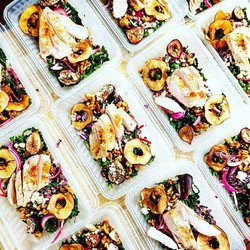 A fun cold smoked kale + spiced walnut s