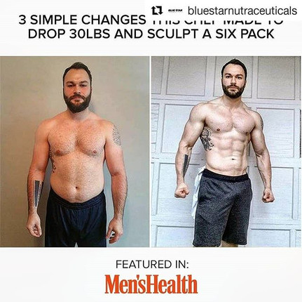 Very proud to represent _bluestarnutraceuticals in this awesome article!_・・・_Our very own, Chisel Challenge 4 Champion, _thechefnshape was f