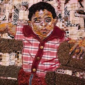 """Farm Boy (Detail), 2020, 20x20.5"""""""