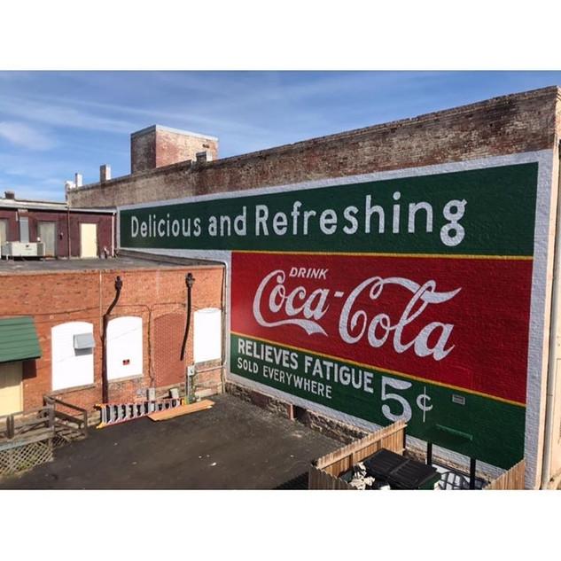 Coca-Cola Restoration Mural (Elberton, GA)
