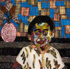 Little Boy (Close-up), 2021, 19x23.5 inches