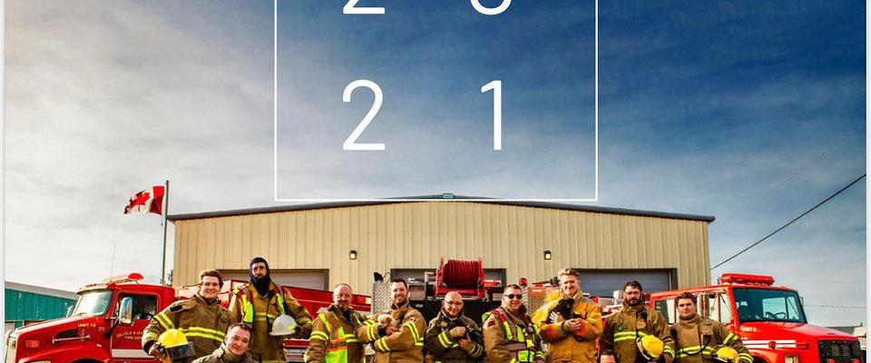 2021 Hunks & Hounds Calendar
