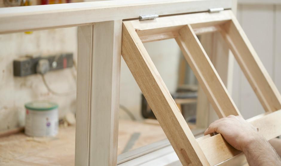 Carpenter montage nylavede Windows