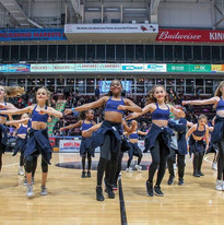 Globetrotters Half Time Show