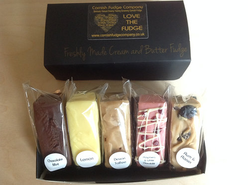 Deluxe Fudge Box - Five Of Your Choice