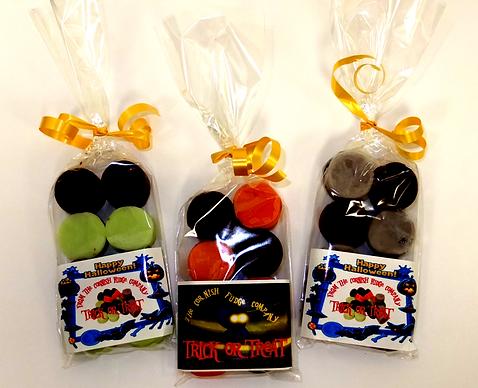 Halloween Trick Or Treat Three Fudge Bags