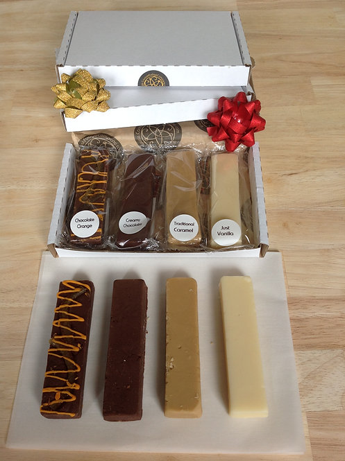 Choose your flavours - 4 Xmas Fudge Fingers!