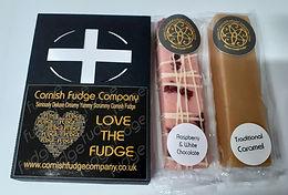 Cornish Flag fudge box