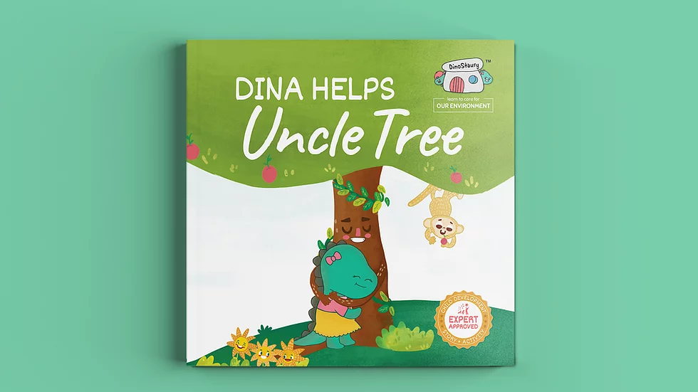 Dina Helps Uncle Tree