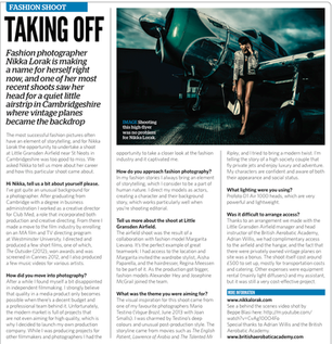 AN ARTICLE ON MY WORK IN PHOTO PROFESSIONAL MAGAZINE