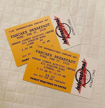 2020 Pancake Breakfast Tickets