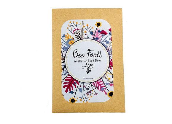 Bee Food Wildflower Seed Packet