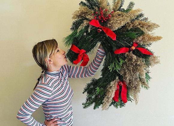 Signature Holiday Horse Wreath