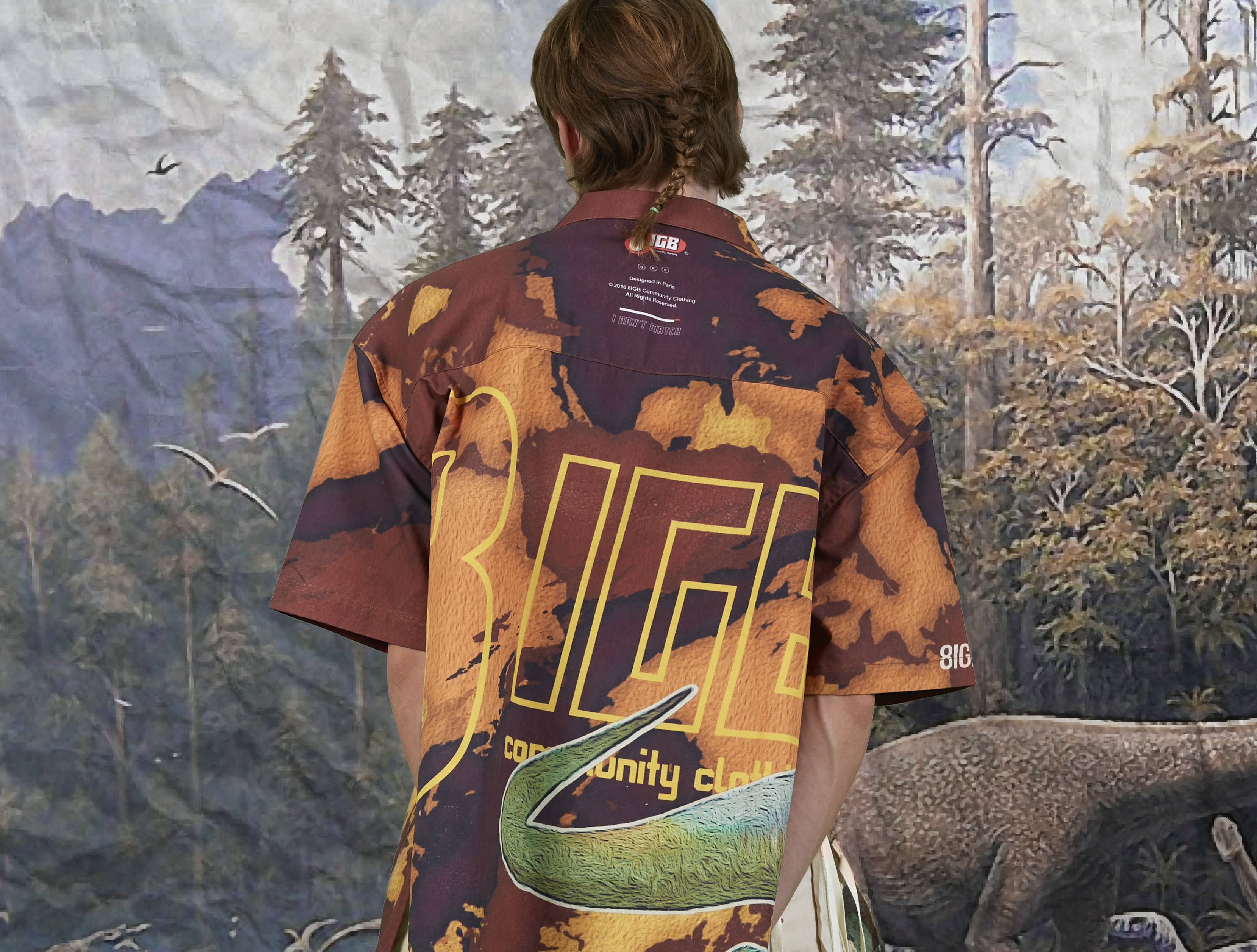 jurassic shirt back back