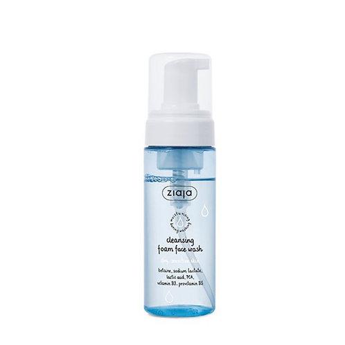 Limpiador facial en espuma,pieles secas