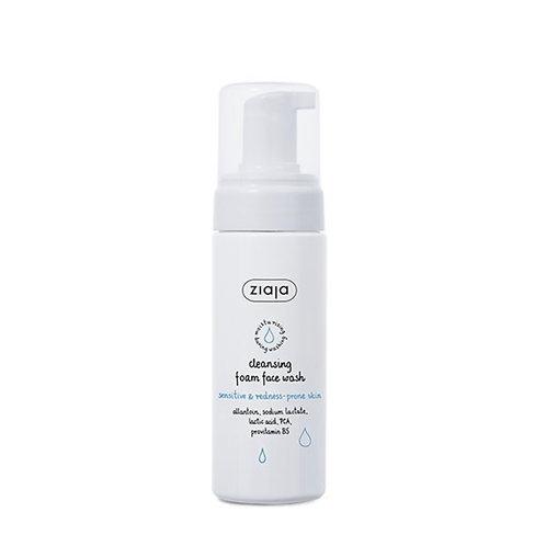 Limpiador facial en espuma,pieles sensibles y enrojecidas