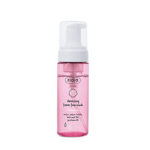 Limpiador facial en espuma,pieles normales