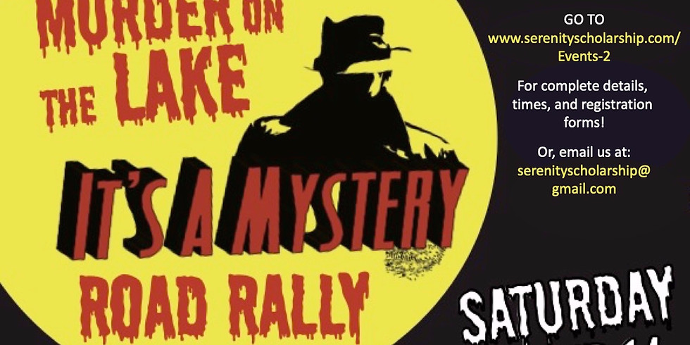 Murder on the Lake - A Mystery Road Rally