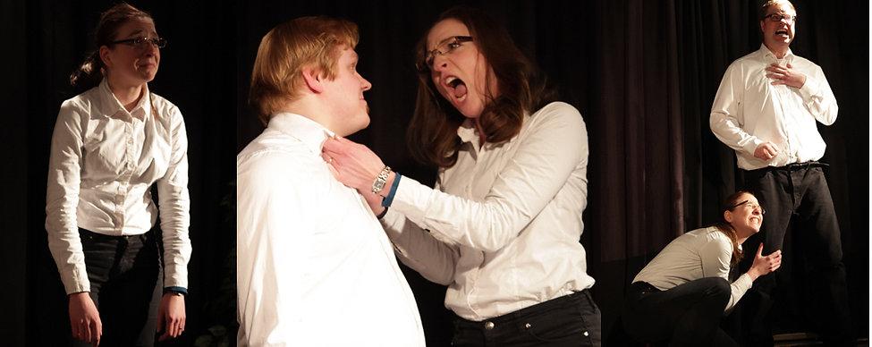Johanna Hattner beim Improtheater