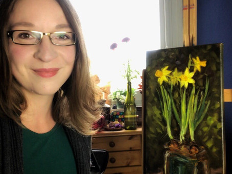 More spring vibes and floral paintings...