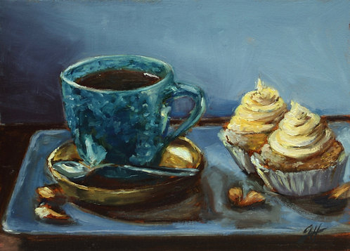 Coffee, Cupcakes and Almonds