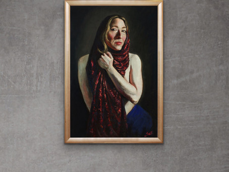 The human connection- the joy of painting Portraits