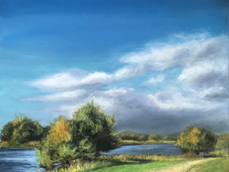 When the river turns: My approach to landscape painting...