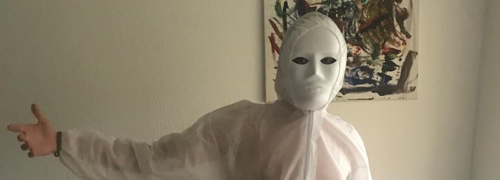 Erster Kostümcheck