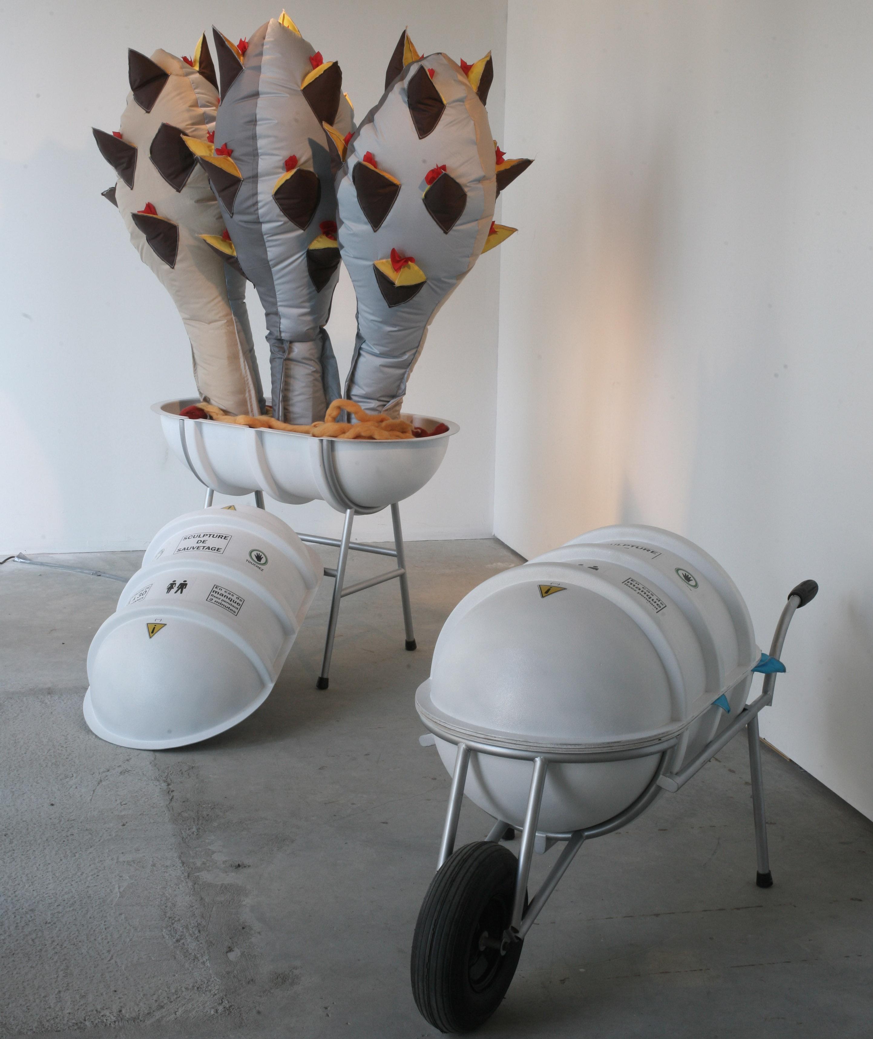 Sculptures de sauvetage