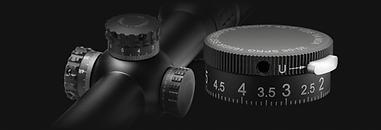 optical scope adjustment knobs