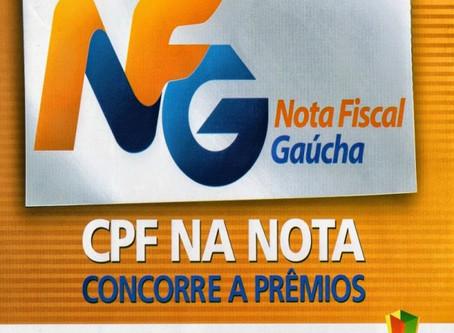 Ganhadores da Nota Fiscal Gaúcha de setembro