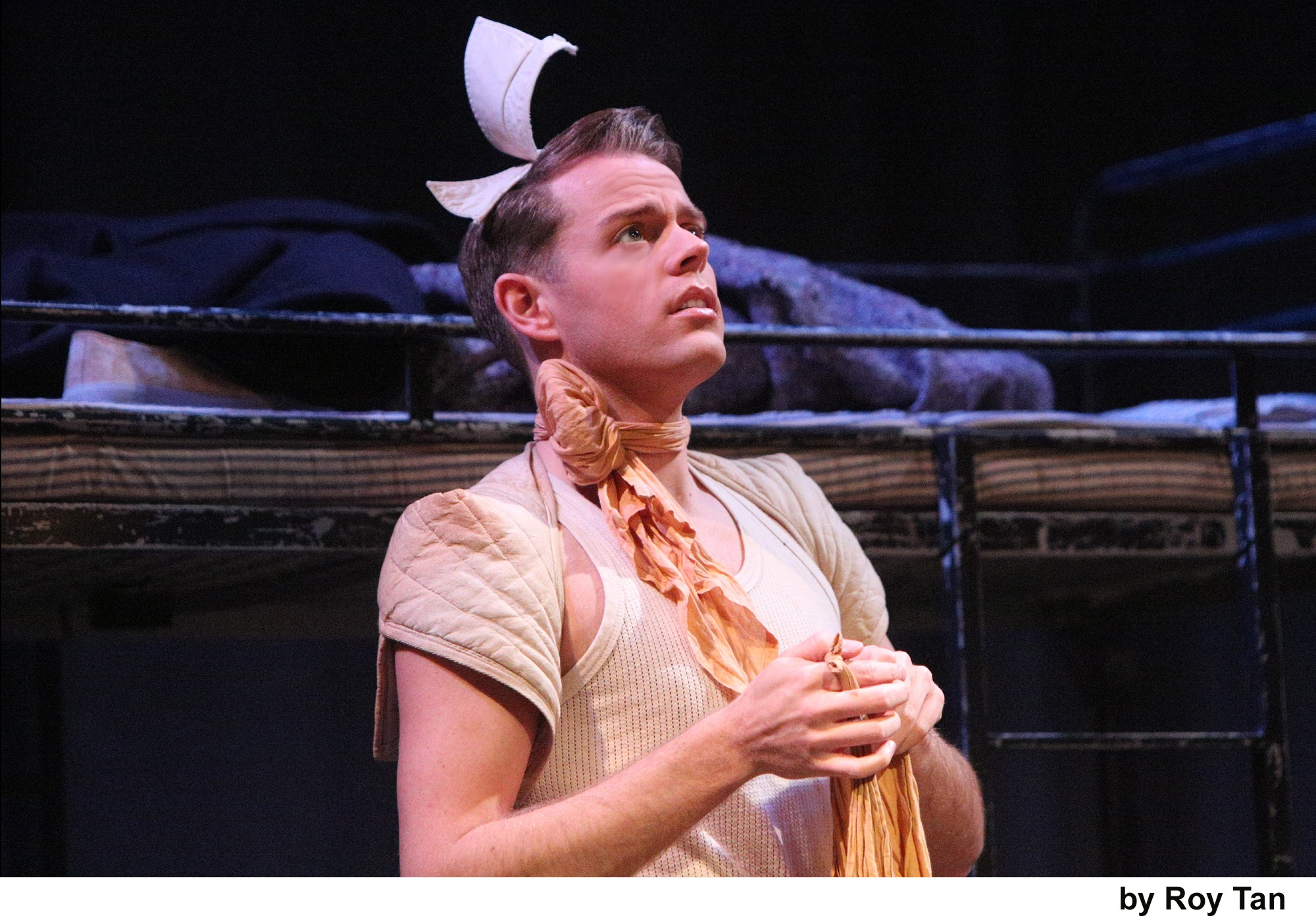 Hebe played by Richard Russell Edwards