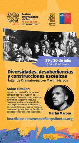 Biobio Teatro Abierto Perfiles y Siluetas 2021