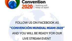 Live Stream Virtual World Convention 2020