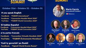 31 October: FGBMFI World Business Summit 20201