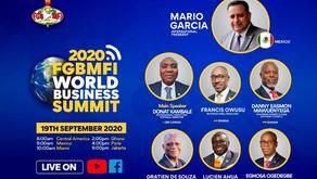 19 September: FGBMFI World Business Summit 2020