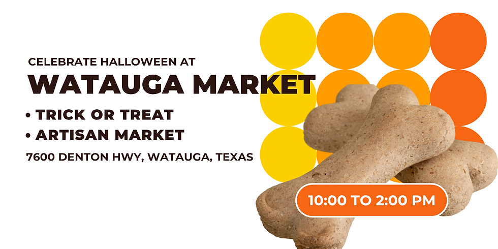 Watauga Farmer's Market (Halloween 🎃)