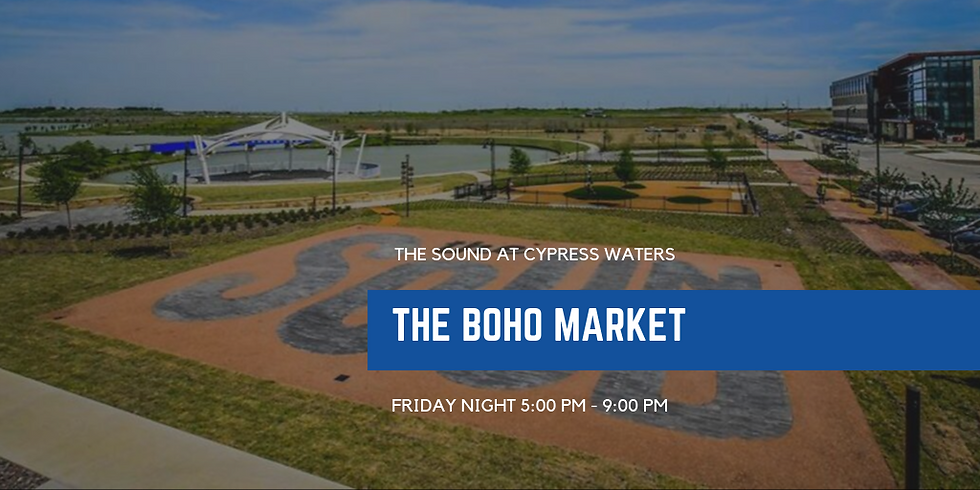 The Boho Market at The Sound