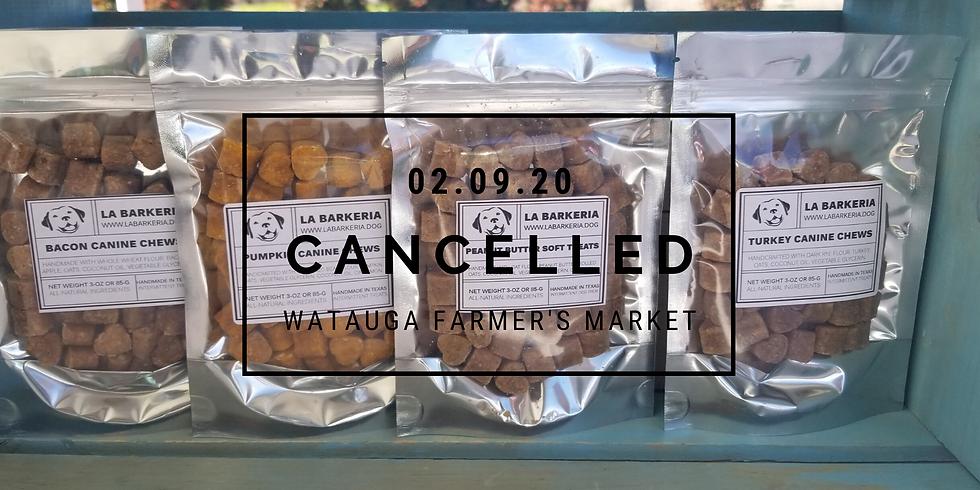 Watauga Farmers Market (Cancelled)