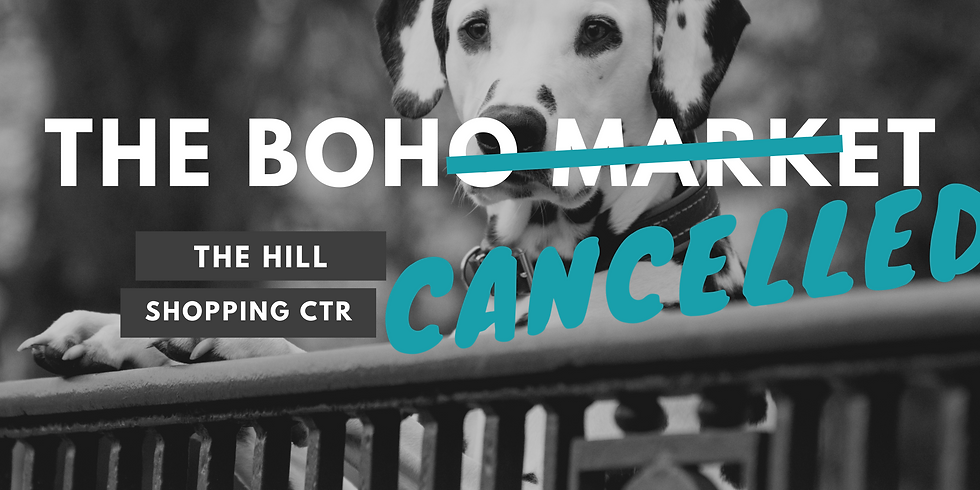 The Boho Market (Cancelled)